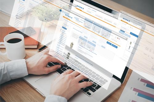 24/7 verfügbar - der EFEN Online Shop