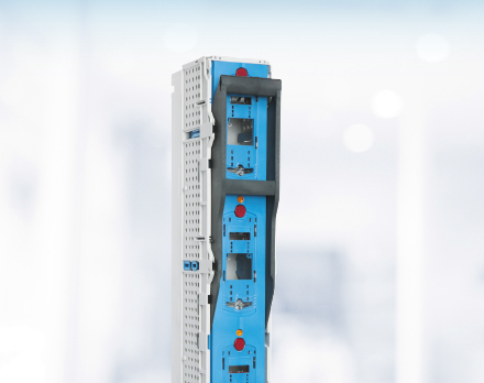 E³ NH Fuse-Switches, verticaldesign and Fuse-Rails