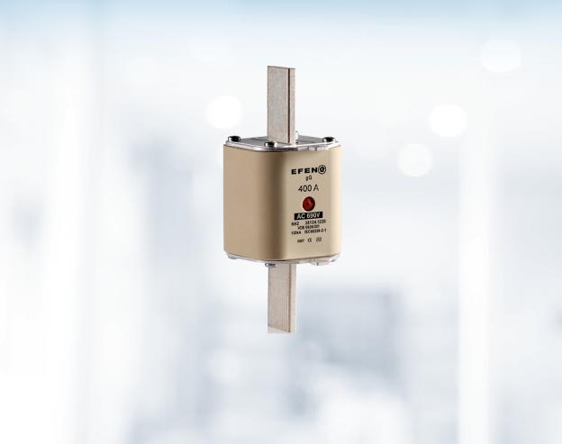 NH-Sicherungseinsätze 400 V<br />mit Doppelkennmelder