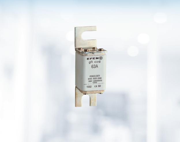 gR NH-Sicherungseinsätze für<br />Stromrichter-Anlagenschutz
